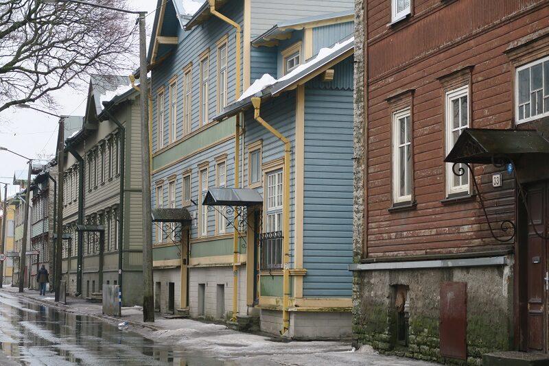 Bydelen Kalamaja, Tallinn, Estland