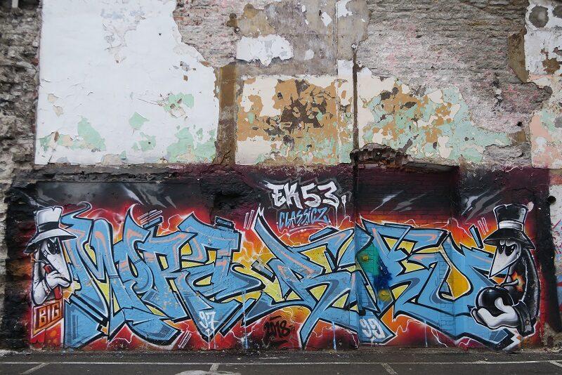 Graffiti, Kalamaja, Tallinn
