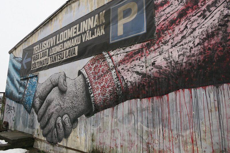 Street art, Tallinn, Estland