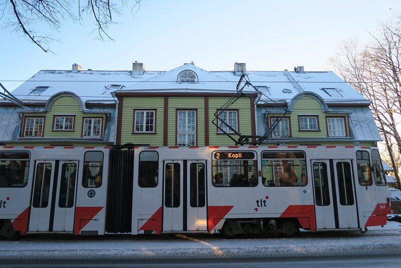 Sporvogn i Tallinn, Estland
