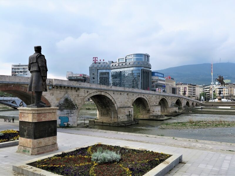 The Stone Bridge, Skopje, Nordmakedonien