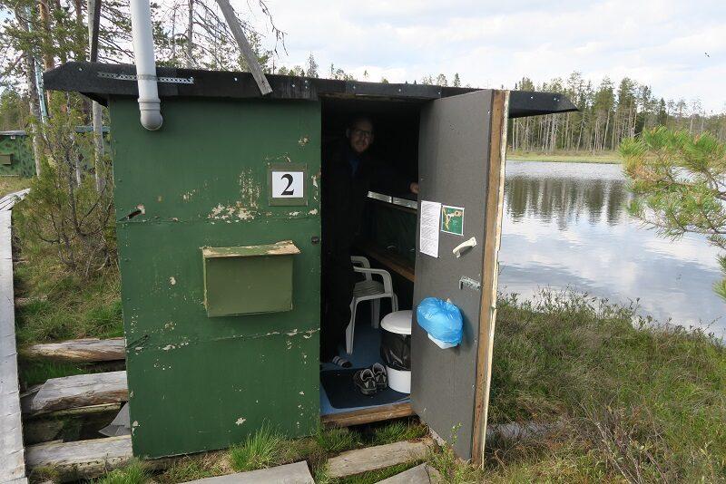 Vores lille bjørneskjul i Finland