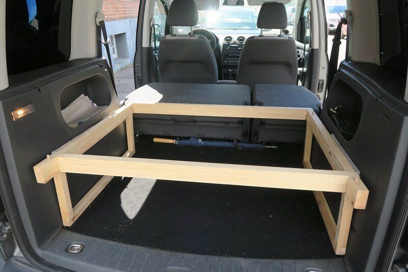 Vi bygger den nye Caddy Camper