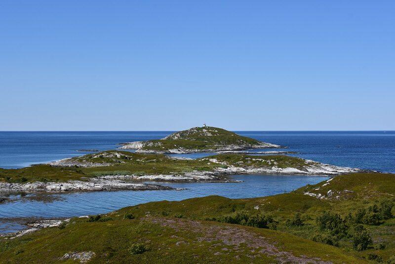 Udsigt fra Hillesøya, Norge
