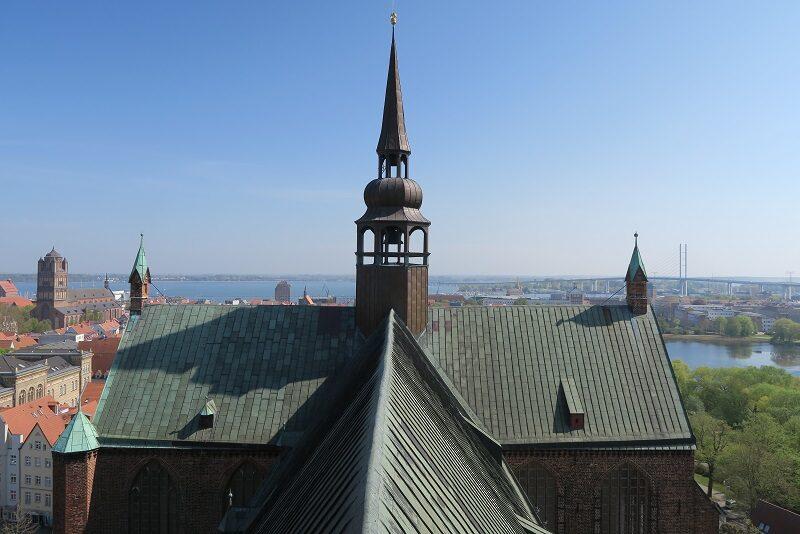 St. Marien kirche, Stralsund, Tyskland