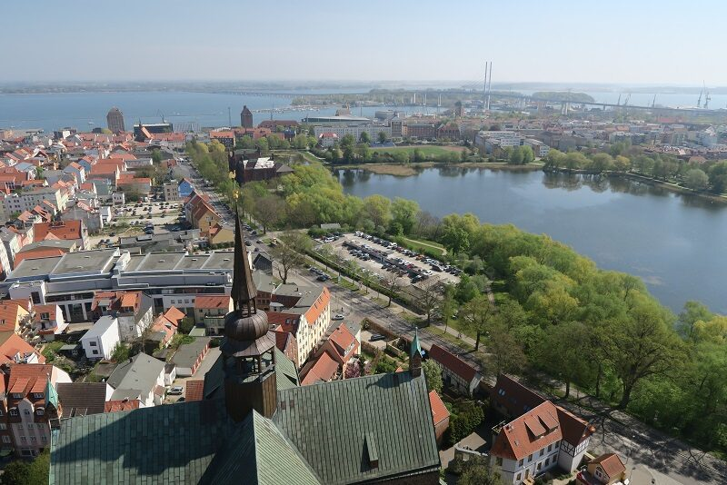 Broen til Rügen, Tyskland