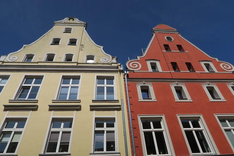 Flotte huse i Stralsund, Tyskland