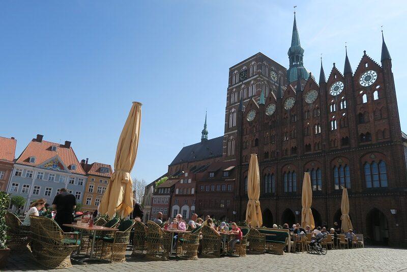 Det gamle rådhus i Stralsund