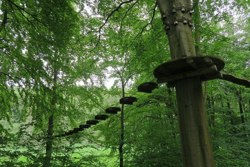Klatrepark ved Skovtårnet