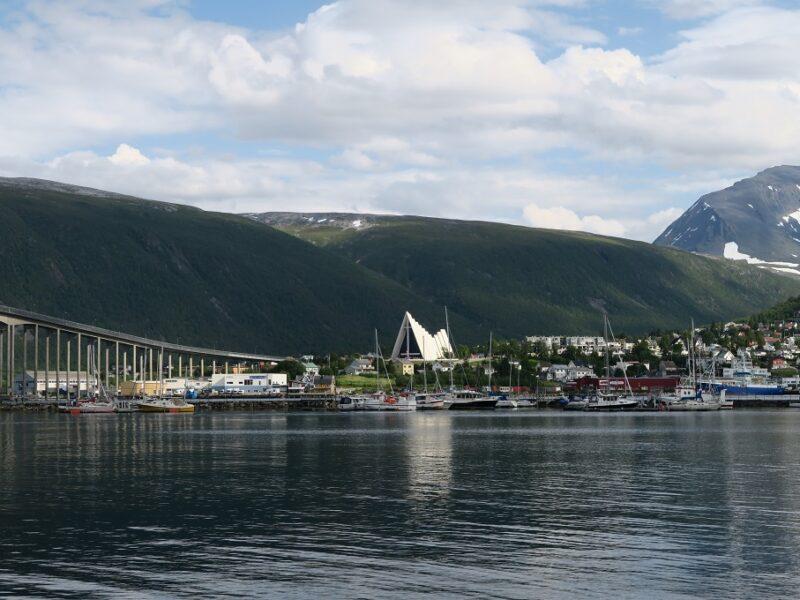 Sommer i Tromsø, Norge