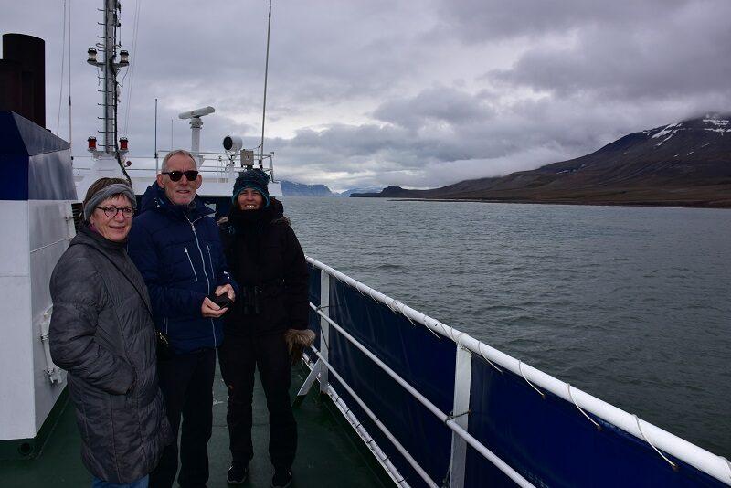 På vej til Pyramiden, Svalbard