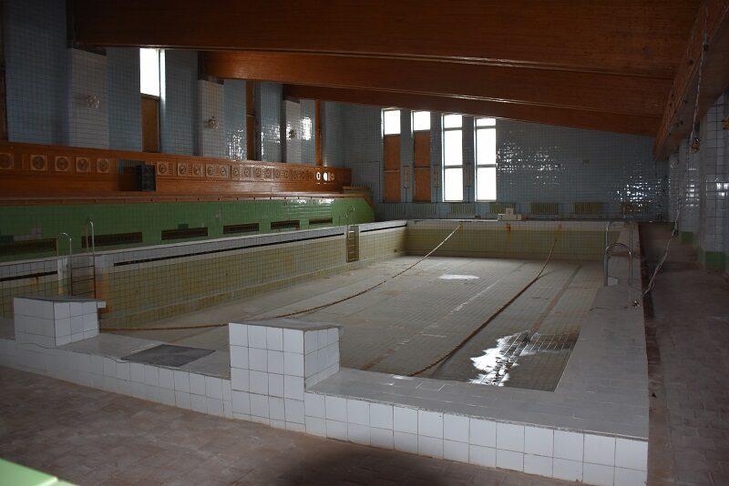 Svømmehallen i Pyramiden, Svalbard