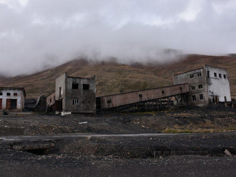 Ankomst til Pyramiden på Svalbard
