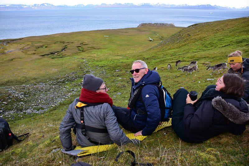 Pause på Svalbard