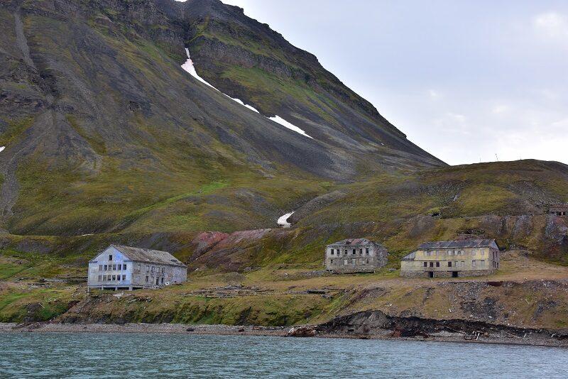 Grumant, nedlagt mine på Svalbard