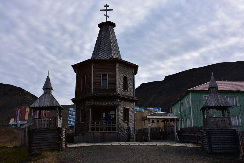 Kirken i Barentsburg, Svalbard
