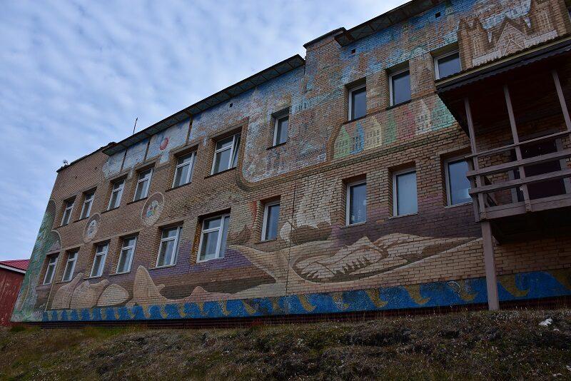 Skolen i Barentsburg, Svalbard