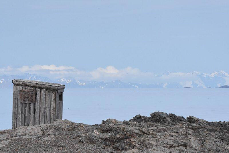 Udsigt fra Isfjord Radio, Svalbard