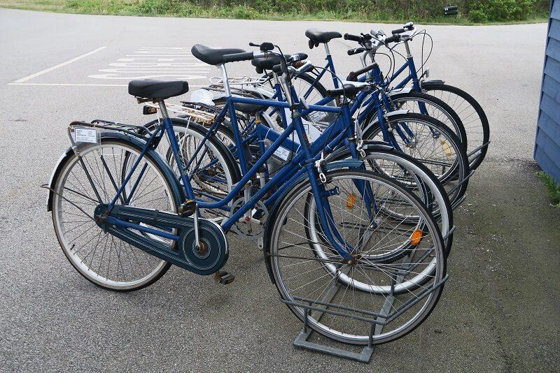 Gratis cykler på Venø
