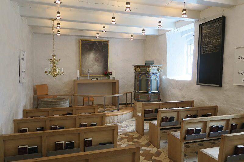 Indenfor i Venø kirke