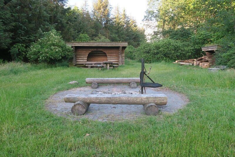 Shelterplads i Klosterhede plantage