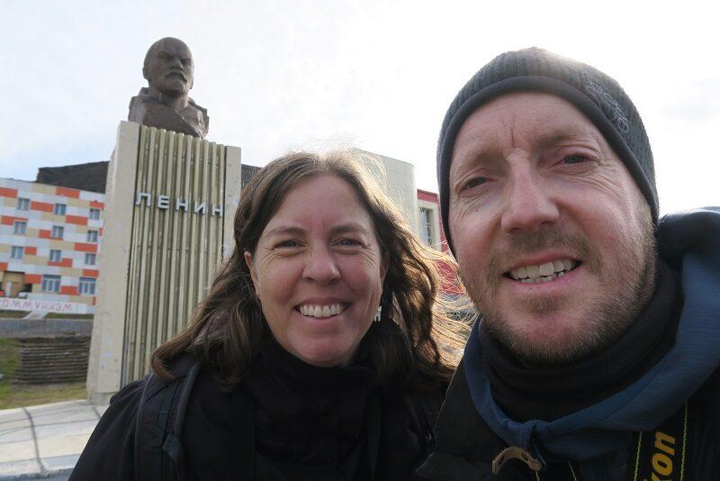 Lenin i Barentsburg, Svalbard