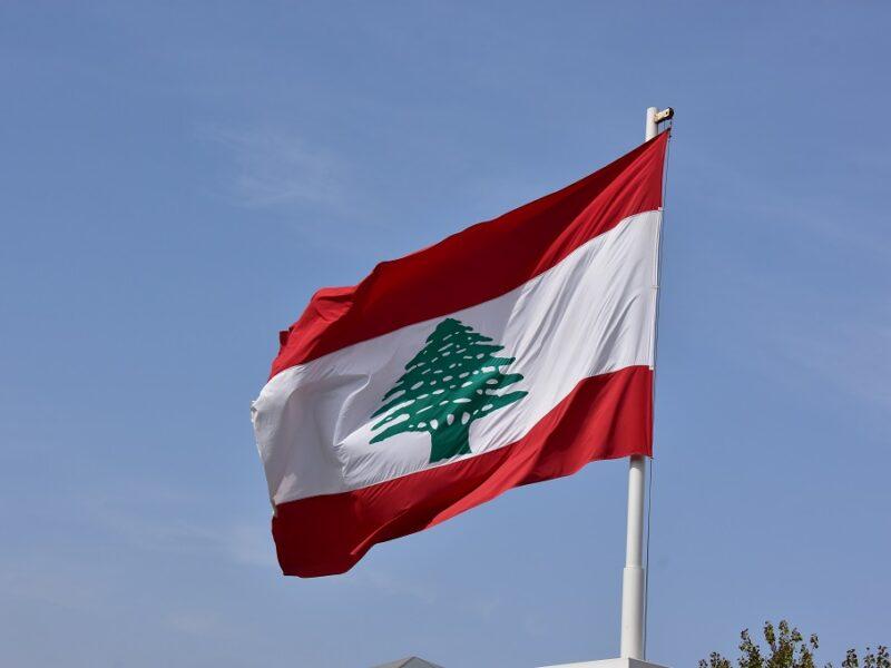 Libanons flag