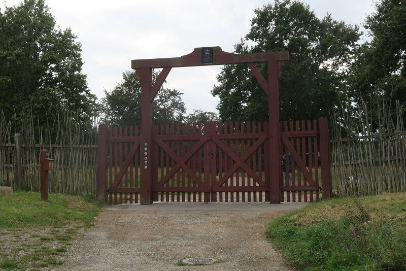 Indgangen til Dyrehaven