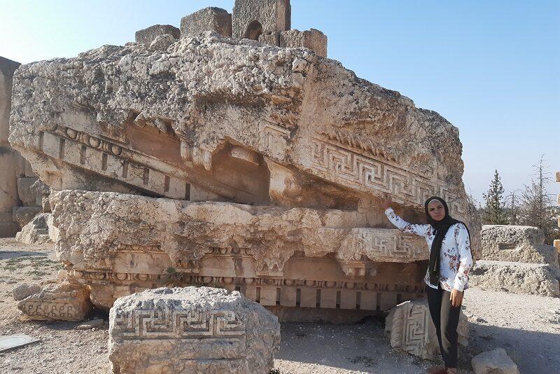Vores guide i Baalbek, Libanon