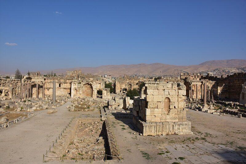 Ruinerne i Baalbek, Libanon
