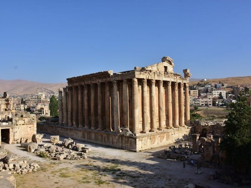 Det smukke Bacctus tempel, Libanon