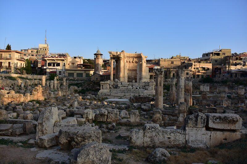Venustemplet, Baalbek, Libanon