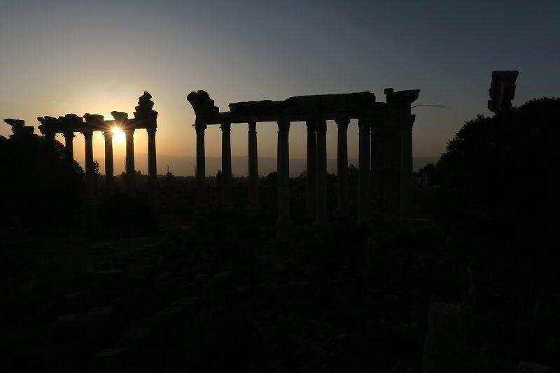 Solnedgang i Libanon
