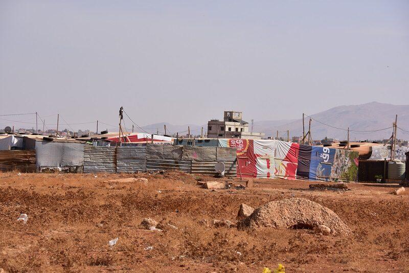 Syrisk flygtningelejr i Libanon