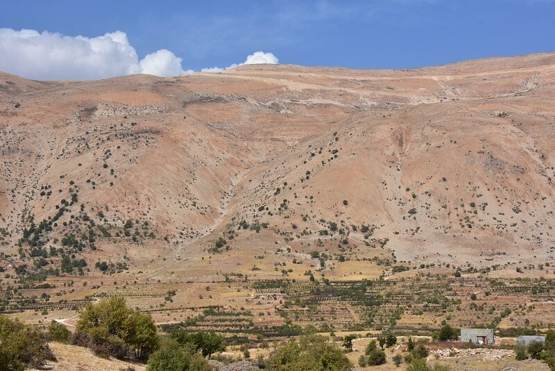Mod Choufbjergene, Libanon