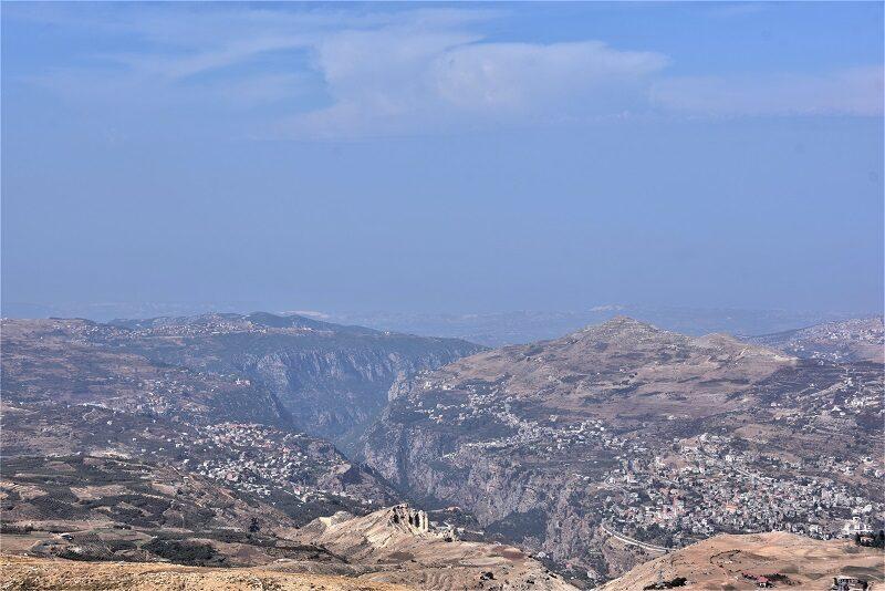 Udsigt over Qadishadalen, Libanon