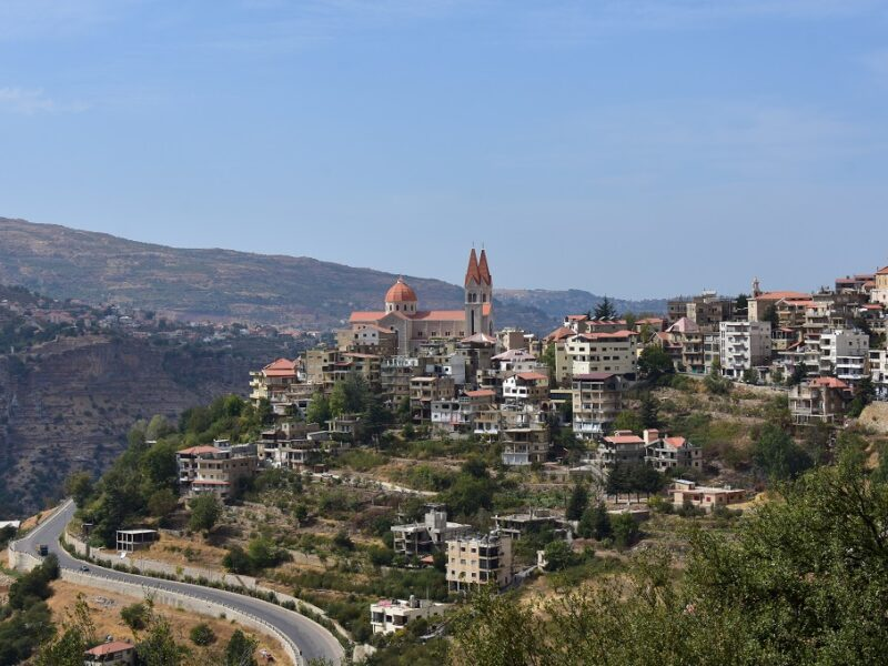 Qadishadalen i Libanon