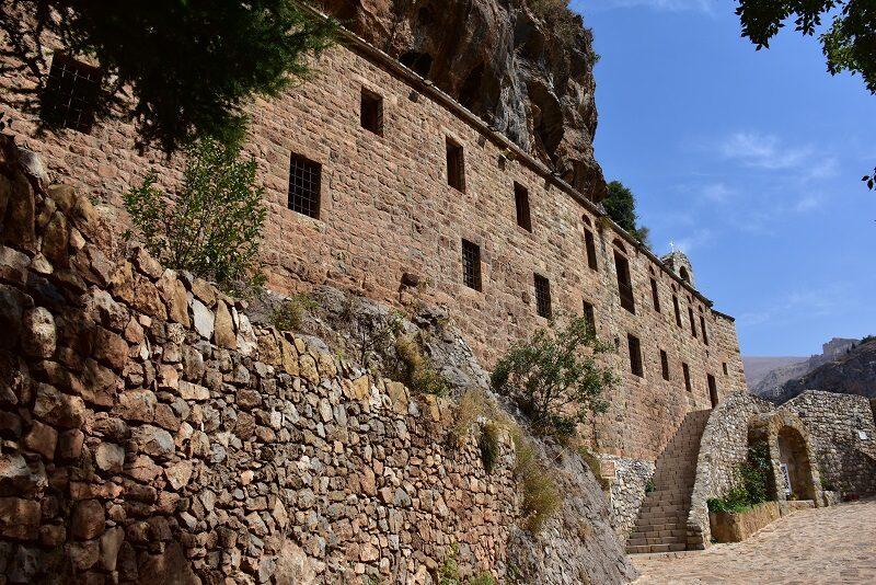 Kloster i Qadishadalen