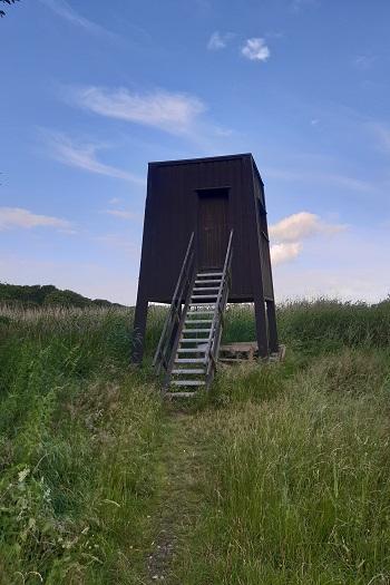 Fugletårn ved Stubbe sø