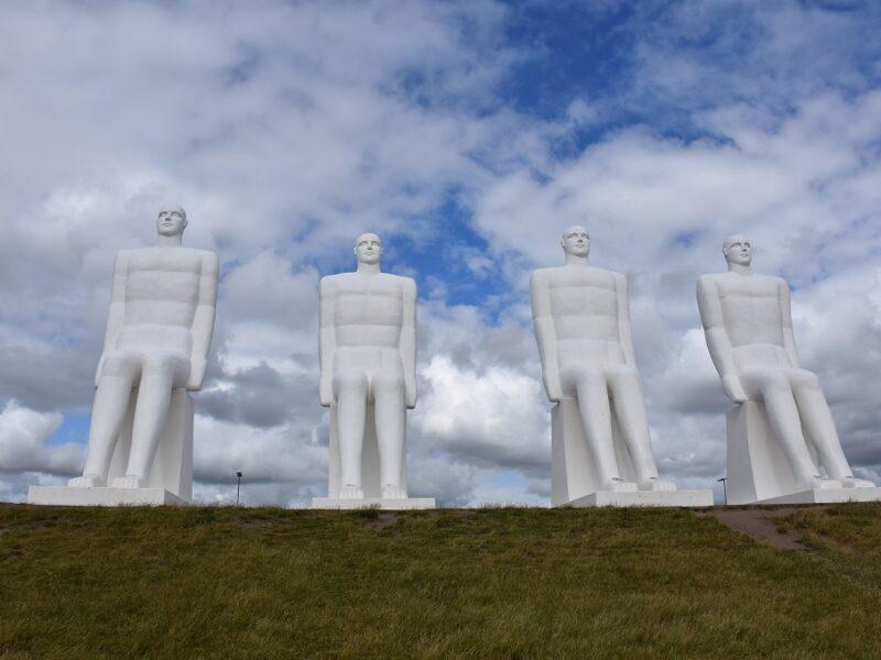 De hvide mænd ved Esbjerg
