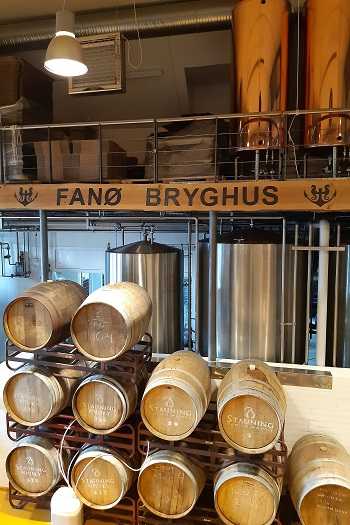 Besøg på Fanø bryghus