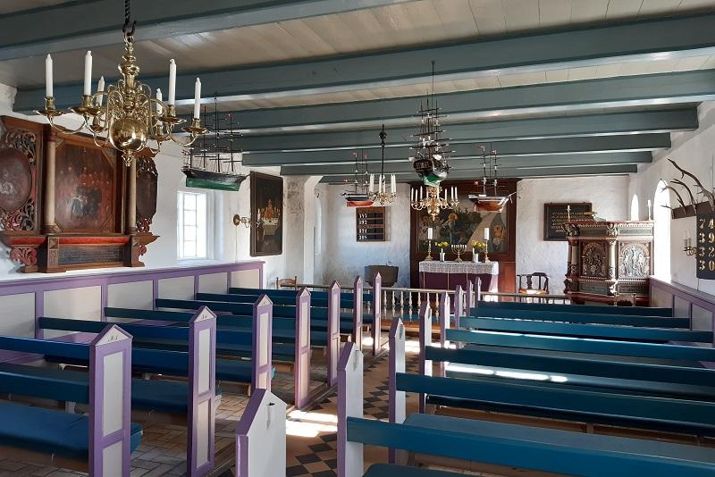 Kirken på Mandø