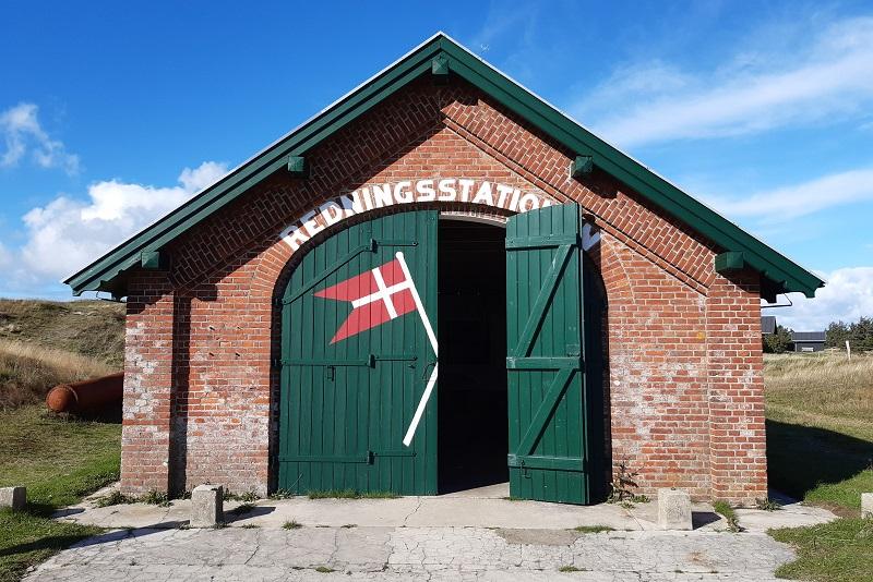 Gammel redningsstation