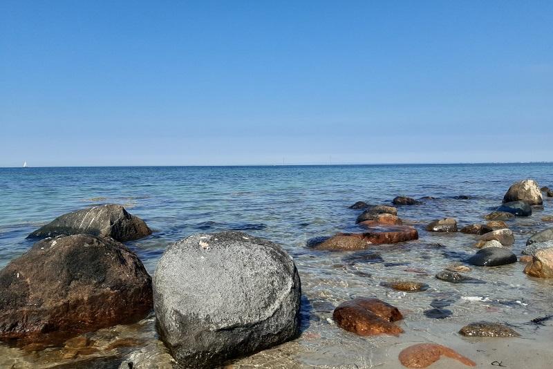 Stranden ved Egholm, Storebælt