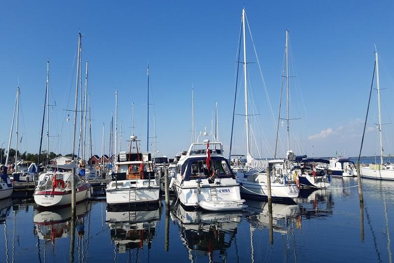 Lystbådehavnen på Agersø