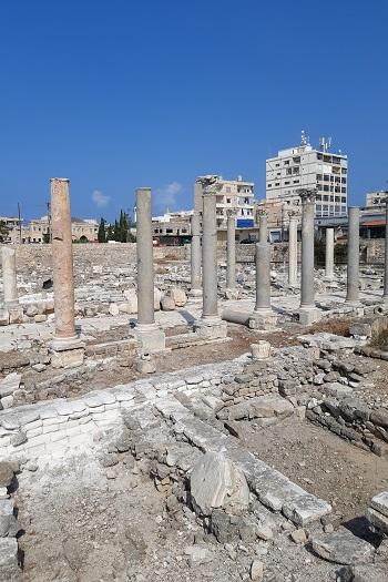 Al-Mina-ruinerne i Tyre