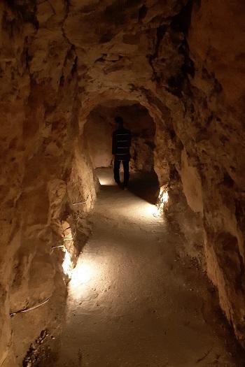 Tunnel ved Mleeta