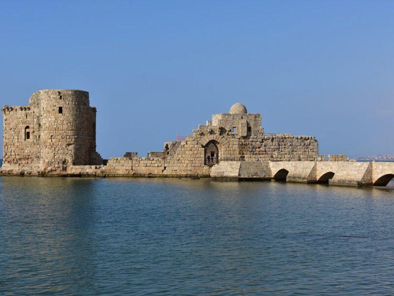 Borgen i Sidon, Libanon