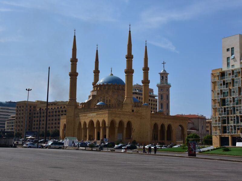 Martyrpladsen i Beirut, Libanon